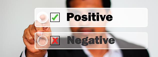 Негативные стороны позитива
