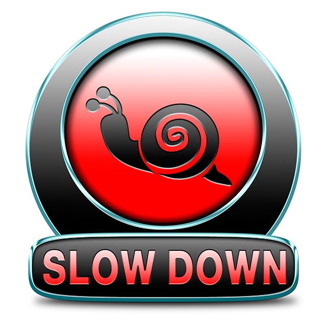 Медленно вниз