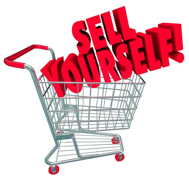 Продать себя
